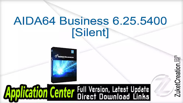 AIDA64 Business 6.25.5400 [Silent]