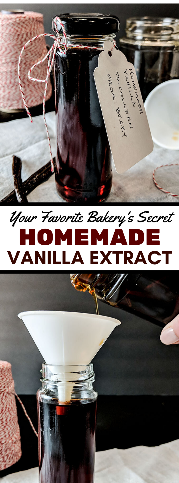 HOMEMADE VANILLA EXTRACT RECIPE #sauce #dressing