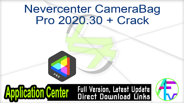 Nevercenter CameraBag Pro 2020.30 + Crack