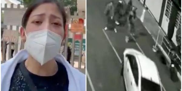 Hermana de Polly, joven atropellada en Iztacalco, pide ayuda ya que está muy grave