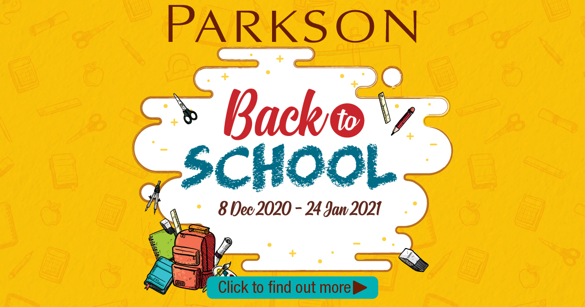 Parkson Back to School 2021 promo