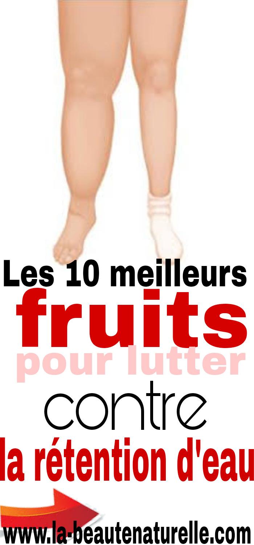 Les 10 meilleurs fruits pour lutter contre la rétention d'eau