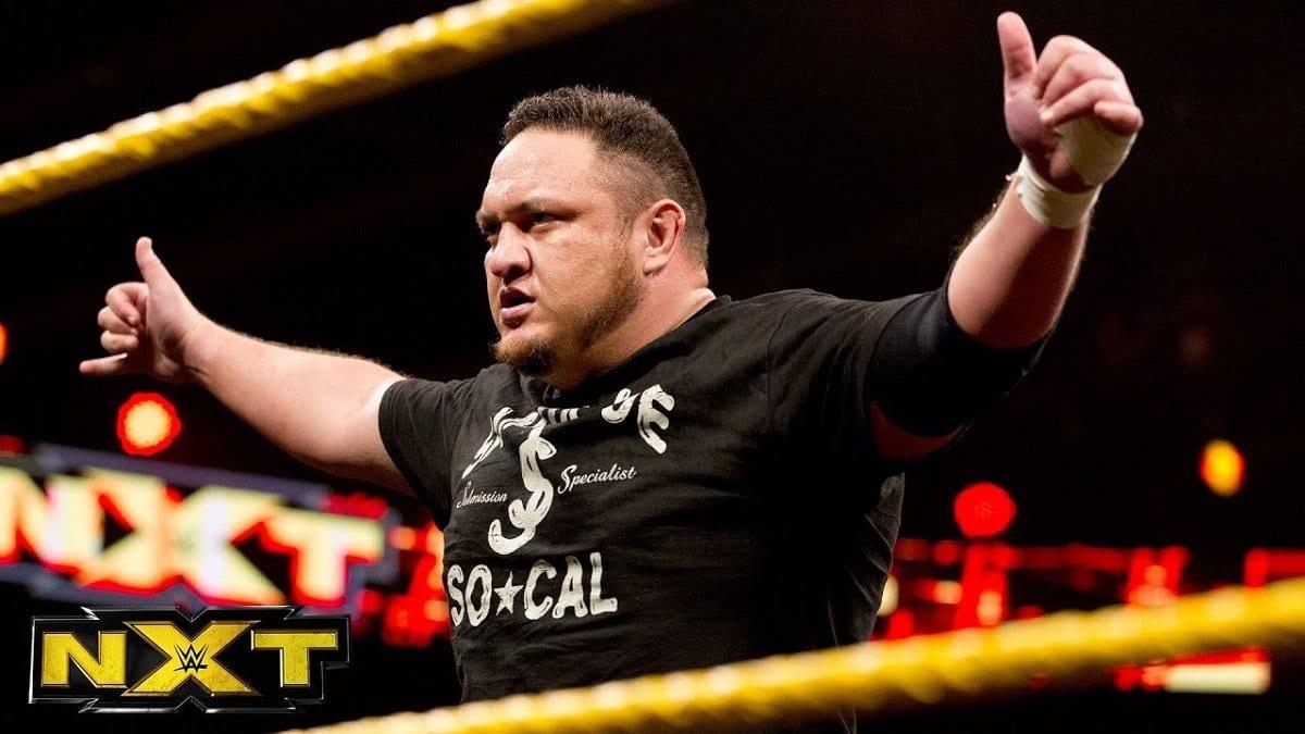 Samoa Joe esteve em conversas por alguns anos para voltar ao WWE NXT