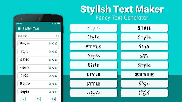 Stylish Text Untuk Tulisan Font Unik WA