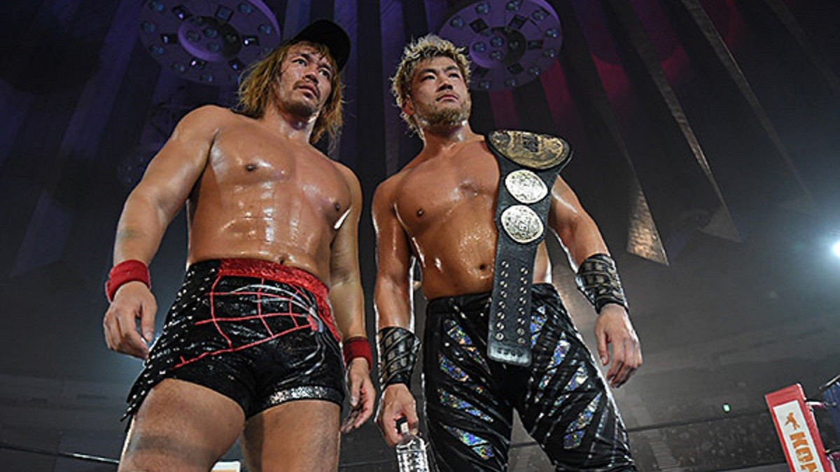 SANADA e Tetsuya Naito conquistam o IWGP Heavyweight Tag Team Championship