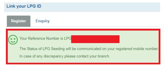 Online sbi LPG ID LINKING PROCESS