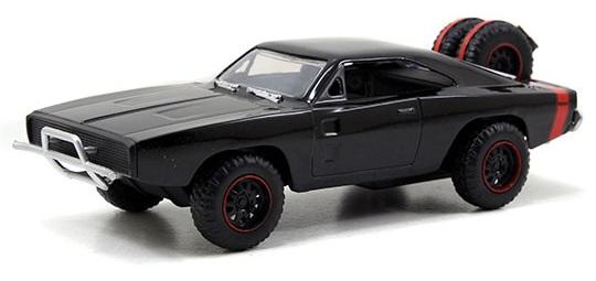coleccion rapido y furioso, coleccion rapido y furioso jada tyos, coleccion rapido y furioso 1/32, Dom's Dodge Charger RT Off Road