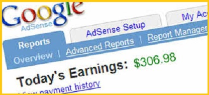 Blogging earning for new bloggers through Google Adsense Earnings