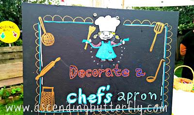 Decorate a Chefs Apron at The Edible Academy, New York Botanical Garden