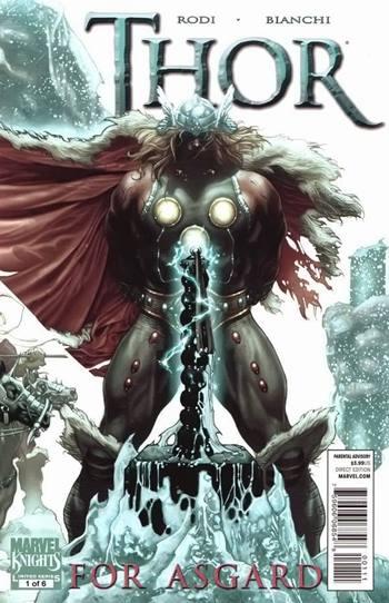 Thor es dios del trueno y rey de Asgard