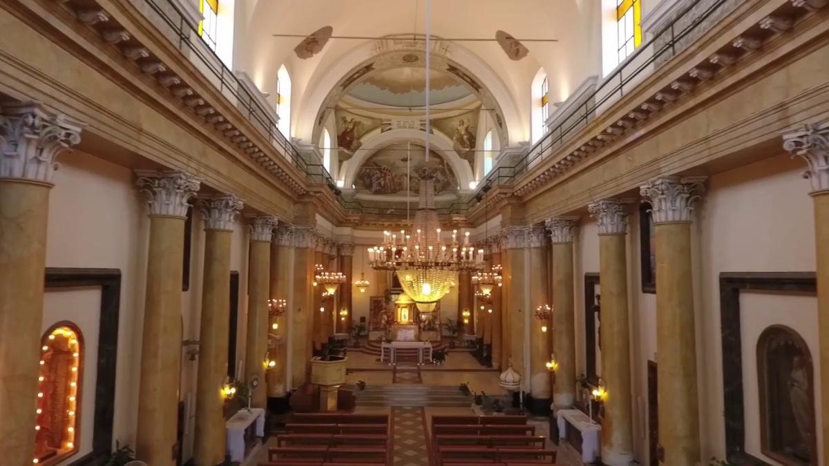 chiesa Santa Maria degli Ammalati colpo di psitola Brigadiere prima comunione