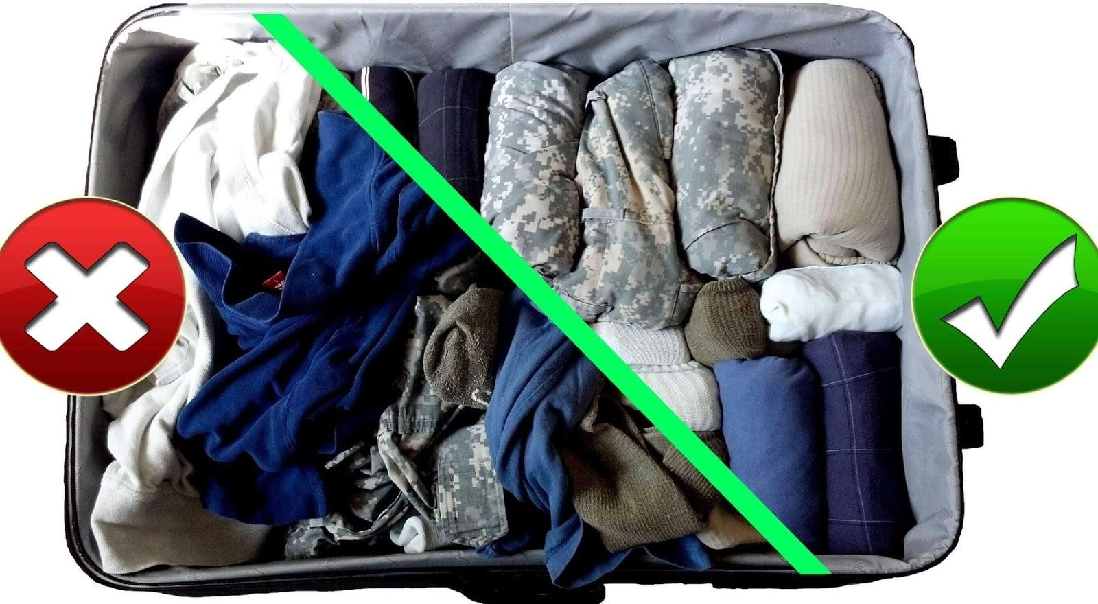 Çamaşırları rulo yaparak katlamak