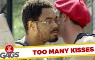 Funny Video – The Man that Loves Kissing Strangers