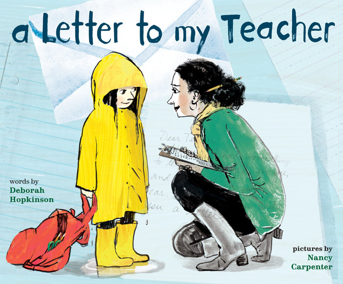The Corner On Character: PPBF: A Letter To My Teacher