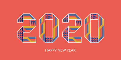 happy new year 2020 banner for facebook