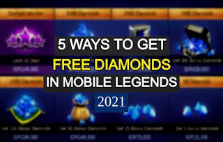 How to Get Mobile Legends Free Diamonds 2021