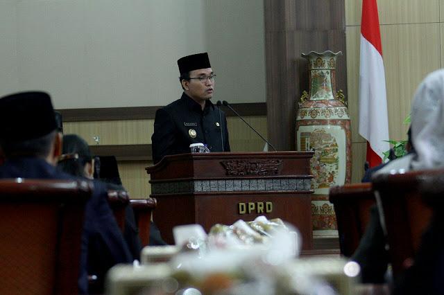 Pemkab Muba Sampaikan Raperda Tentang Pinjaman Daerah Ke DPRD