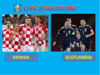 Link Live Streaming Euro 2020 KROASIA VS SCOTLANDIA  Berlangsung Di Stadion Hampden Park