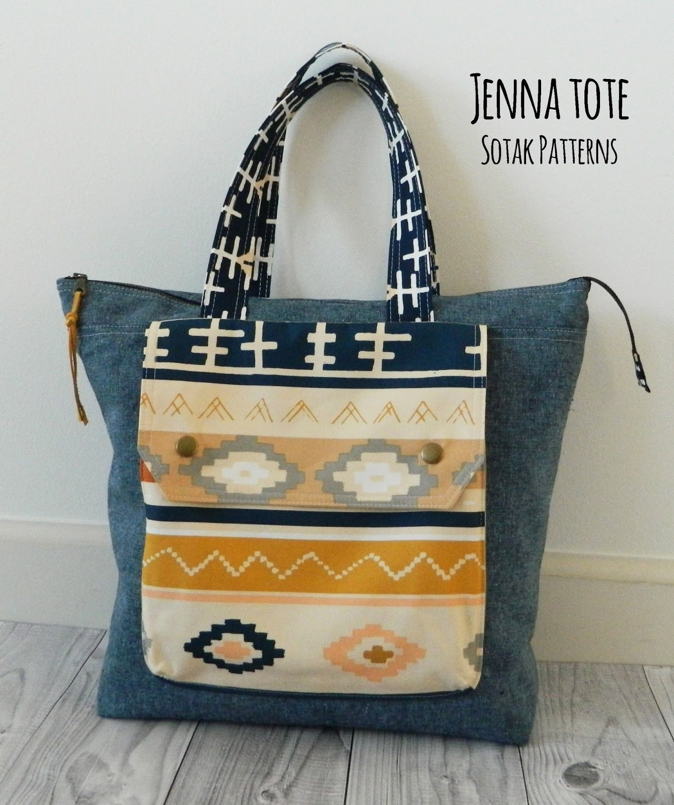 s o t a k handmade jenna tote new pdf pattern. Black Bedroom Furniture Sets. Home Design Ideas