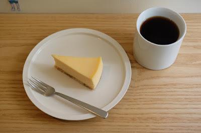 東京・代々木八幡のケーキ、カフェ Afterhours チーズケーキ