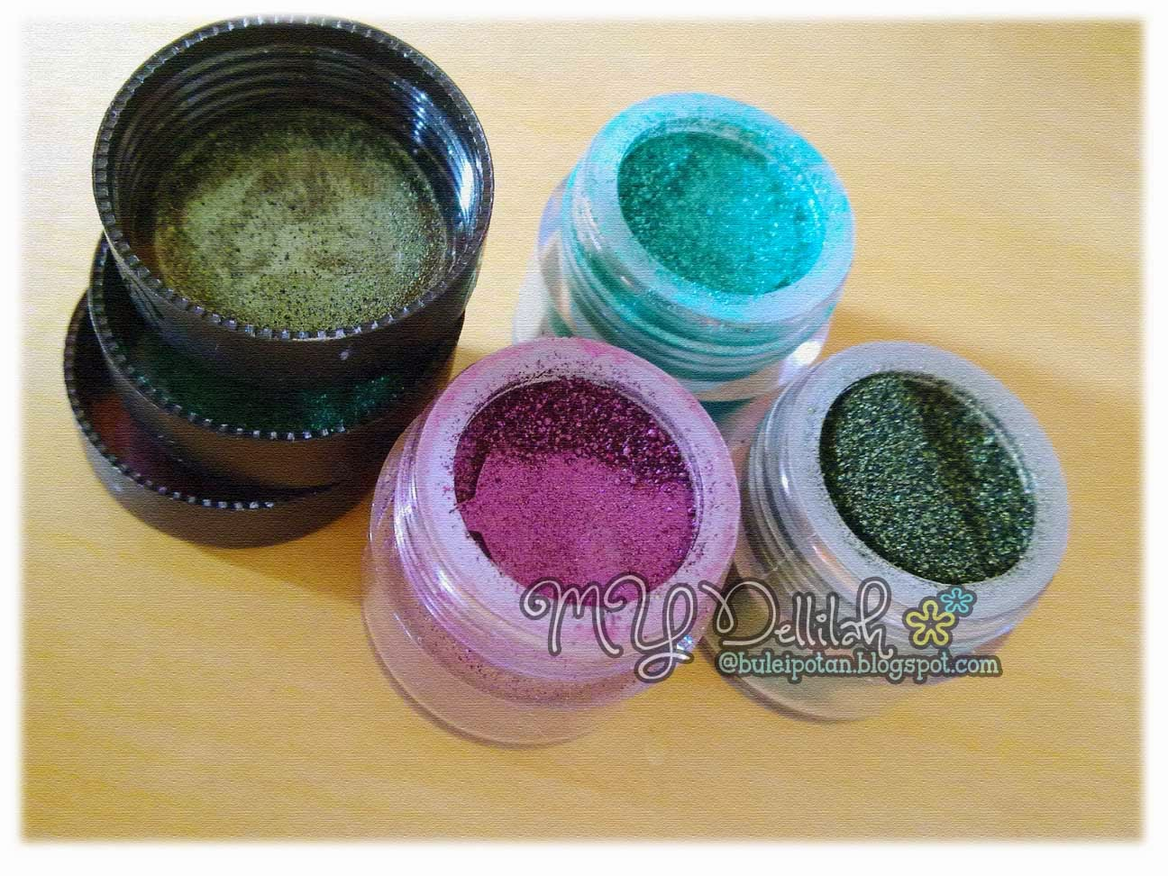 Sleek Eye Dust - Eyeshadow dalam POT