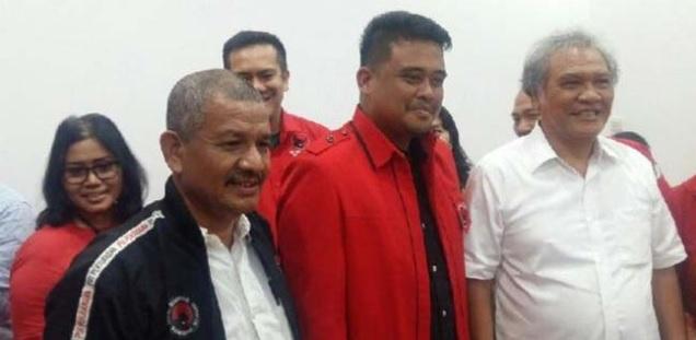 """Ancaman bagi Kader PDIP Tak Dukung Menantu Jokowi, """"Jangan Ada yang Abu-Abu!"""""""