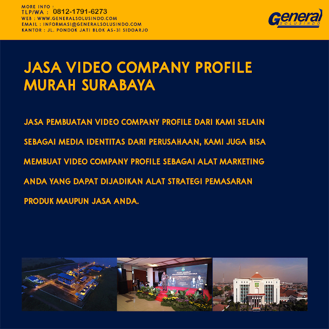 Jasa Pembuatan video company profile - General Solusindo