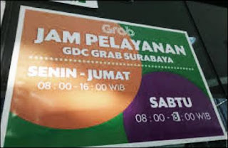 Grab Surabaya Alamat Kantor Jam Kerja & Nomor Telepon Kantor