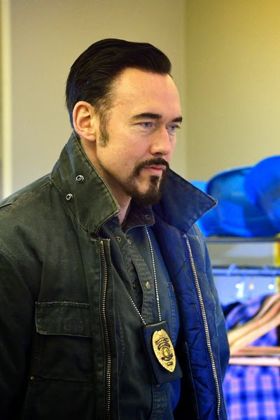 Kevin Durand as big Russian rat exterminator Vasiliy Fet in The Strain Season 1 Episode 5 Runaways
