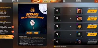 Jumpa lagi dengan kami dipembahasan game Free Fire Cara Mendapatkan Token Ghost Lollipop di FF Free Fire