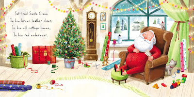 A Christmas Gift for Santa: A Bedtime Book by J. Theron Elkins