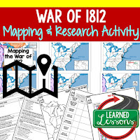 13 Colonies Map Activity and Research Graphic Organizer, Mapping the 13 Colonies Road To Revolution Map Activity and Research, Mapping the Road to Revolution French and Indian War Map Activity and Research, Mapping the French and Indian War American Revolution Map Activity and Research, Mapping the American Revolution War of 1812 Map Activity and Research, Mapping the War of 1812 Western Expansion Map Activity and Research, Mapping Western Expansion Sectionalism Map Activity and Research, Mapping Sectionalism The Civil War Map Activity and Research, Mapping The Civil War Reconstruction Map Activity and Research, Mapping Reconstruction