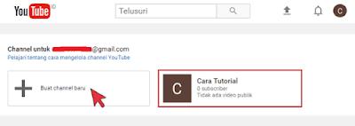Cara Membuat Channel Baru AKUN MERK Youtube