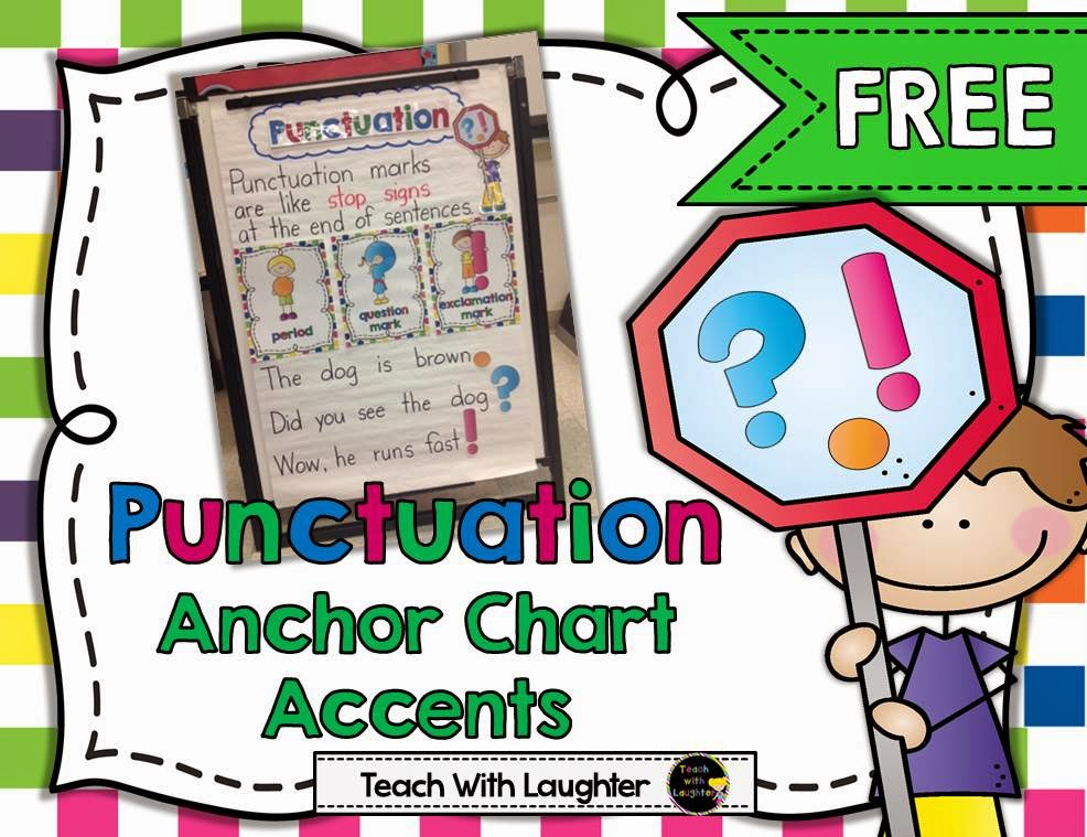 In this pack you  ll also find an activity to check for understanding along with  can student instruction card so copy and toss it into  teach laughter punctuation anchor chart rh teachwithlaughterspot