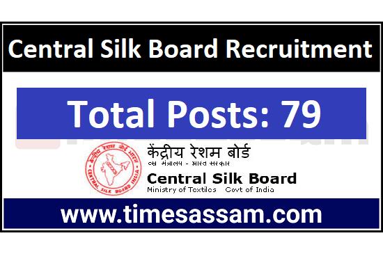 Central Silk Board Job 2020