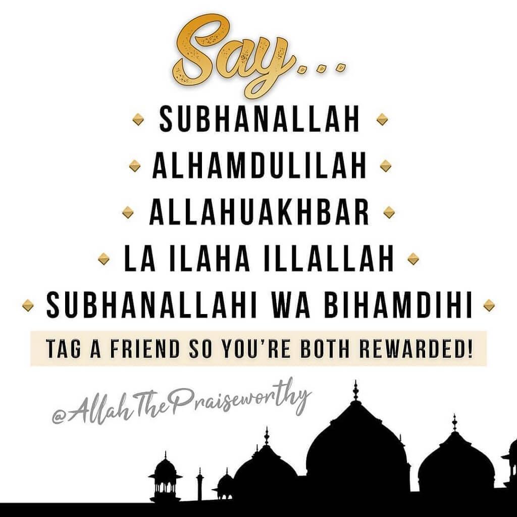 Lailahaillallah-Alhamdulillah-Allahuakbar