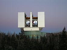 Large Binocular Telescope on Mt. Graham (Source: Wikipedia)