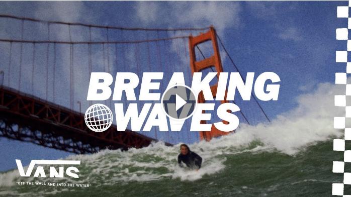Breaking Waves Queer Surf Surf VANS