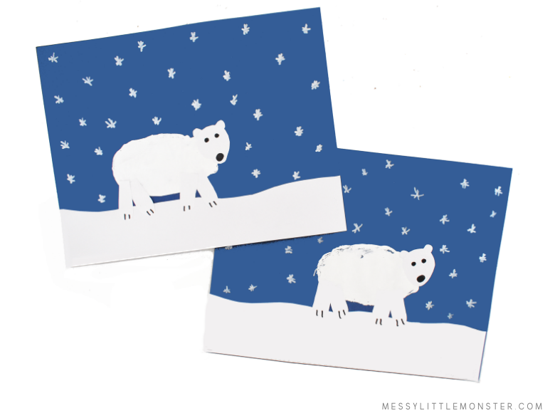 polar bear art project