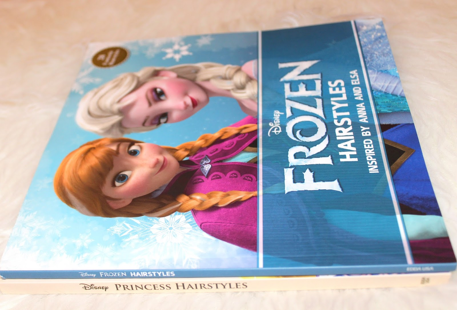 BOOK REVIEW:  FROZEN HAIRSTYLES INSPIRED BY ELSA AND ANNA