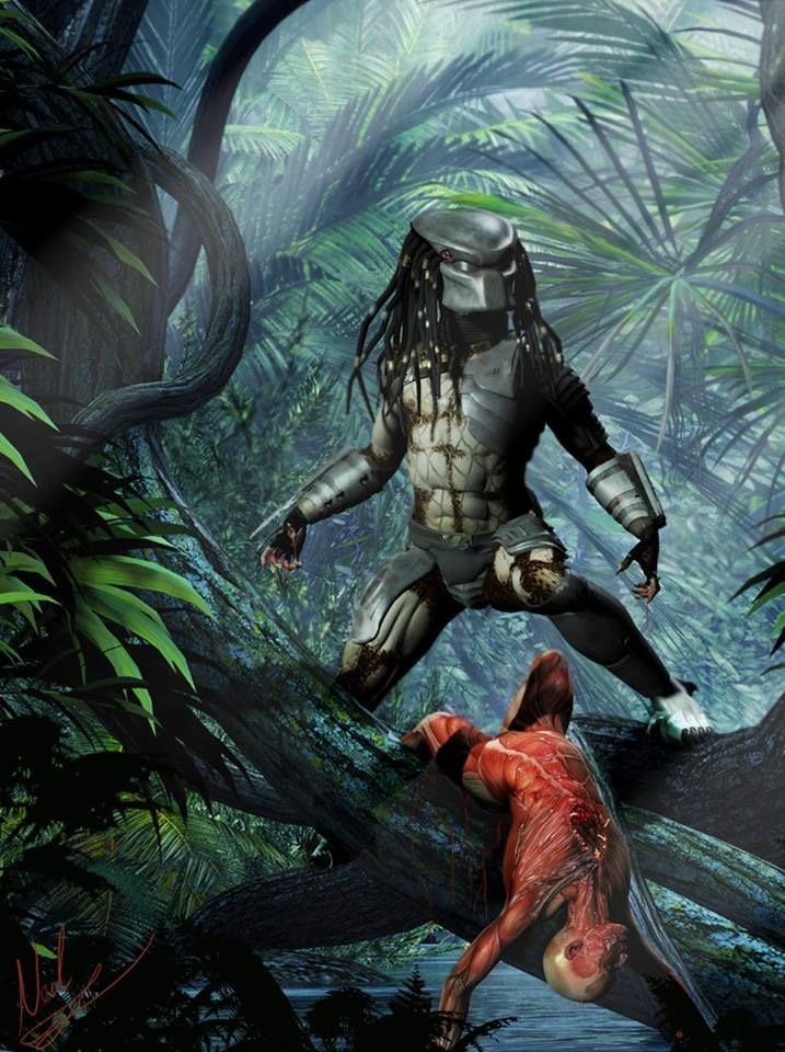 Predator Art Concept