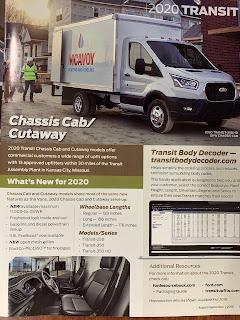Ford Frontline 2020 Transit pg 11