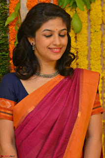 Supriya in Pink Saree Spicy Pics 009.JPG