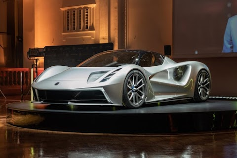 Lotus' $2 Million Dollar All-Electric Hypercar