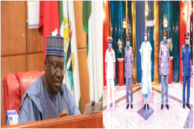 Senate receives Buhari's request to confirm service chiefs