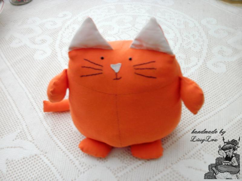 Ginger Toy Cat Uk