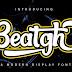 Download Beatgh Modern Display Font