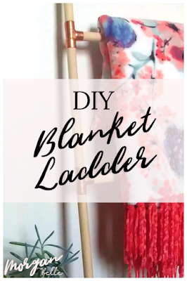 DIY blanket ladder pin