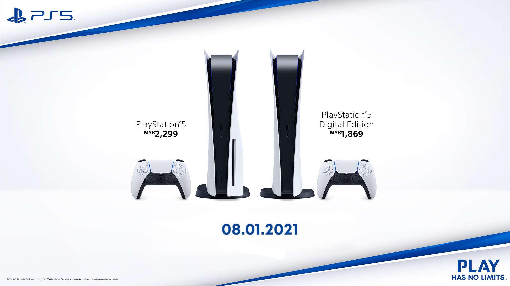 Anda Boleh Buat Pra-Tempah PlayStation 5 Untuk Kelompok Kedua Pada 8 Januari Bermula RM1869