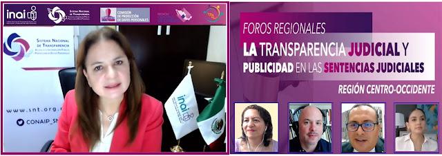 Publicación de todas las sentencias judiciales, logro de la sociedad civil: Del Río Venegas